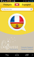 Screenshot of Dictionnaire espagnol-français