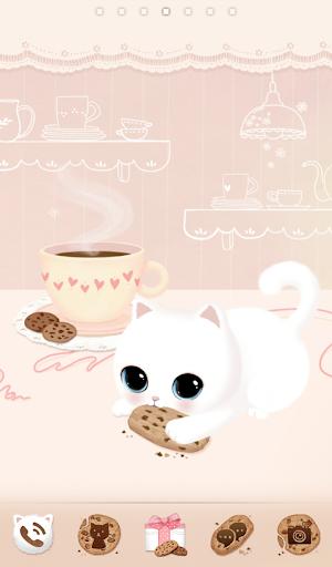 초코칩 고양이 GO런처 테마