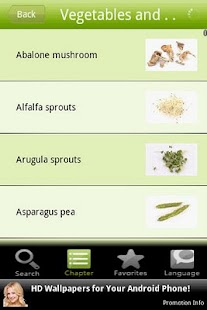 Vegetables and Legumes - screenshot thumbnail