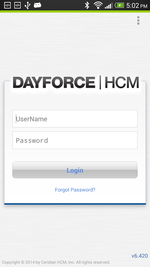Dayforce HCM - screenshot