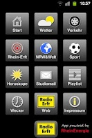 Screenshot of Radio Erft