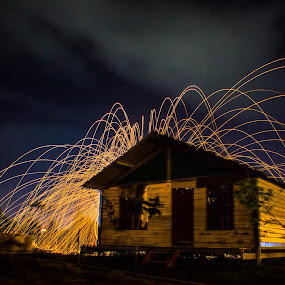 Mystic House by Muhammad Syuhada - Abstract Fire & Fireworks