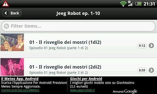 Jeeg Robot D'Acciaio - screenshot thumbnail