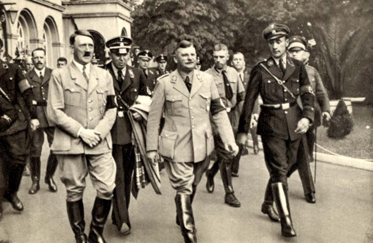 Image result for hitler and rohm