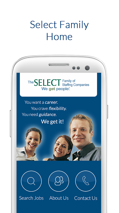 Job Finder from Select Family - screenshot