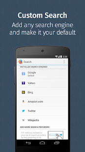 Firefox Browser for Android- screenshot thumbnail