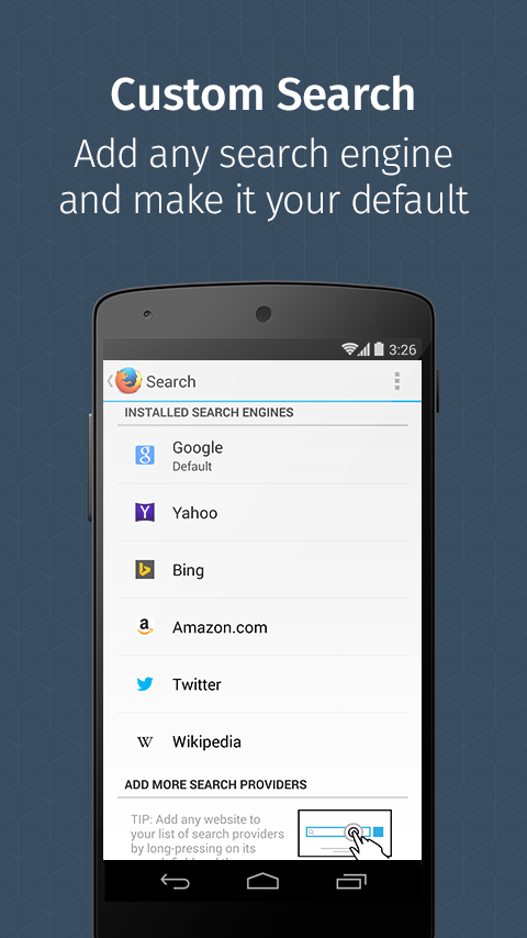 Firefox Browser for Android - screenshot