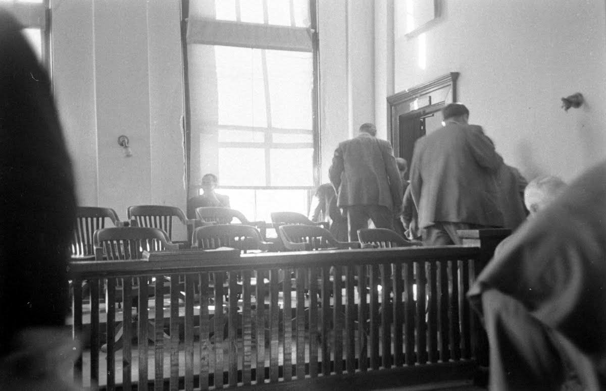 Lynch Slaying Trial Lyons, Ga.