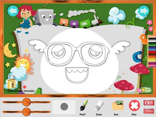 無料教育Appの着色ゲーム:かわいいモンスター|HotApp4Game