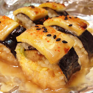 Vegan Lion King Sushi Roll.