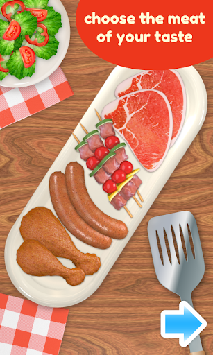 BBQ Grill Maker - Cooking Game  screenshots 2