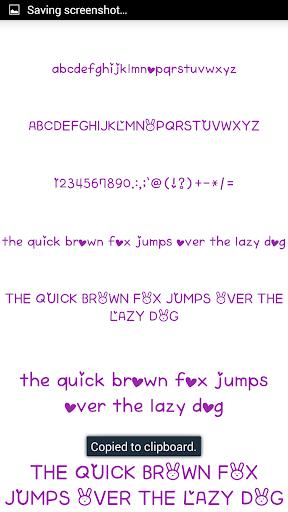 Color Fonts for FlipFont #6 3.22.0 screenshots 3