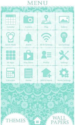 Simple Theme-Lace Flowers- 1.0 Windows u7528 3
