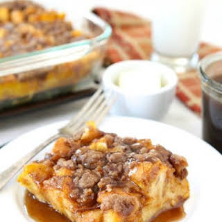 Baked Pumpkin French Toast.