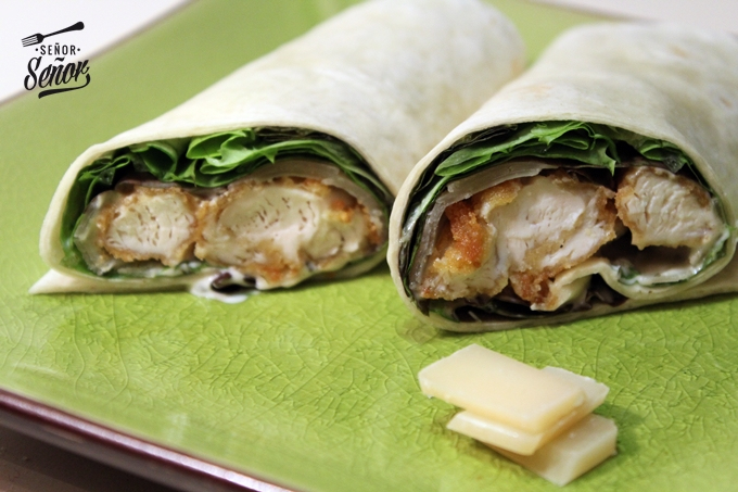 Caesar Salad Wrap Recipe