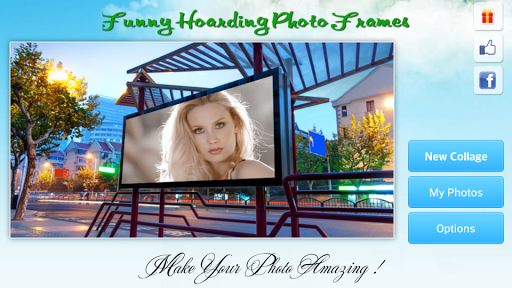 Funny Hoarding Photo Frames