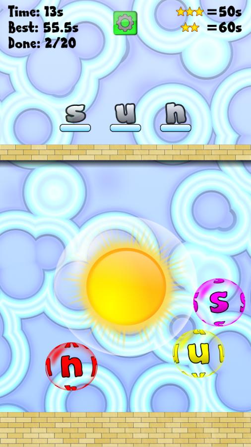 Word Pop Free - screenshot