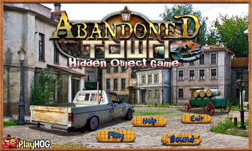 Abandoned Town - Hidden Object