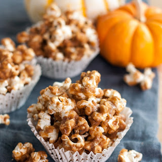 Pumpkin Spiced Caramel Corn.