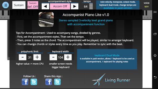 Accompanist Piano - Lite 1.0.1 screenshots 3