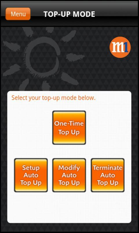 M1 Prepaid MasterCard - screenshot