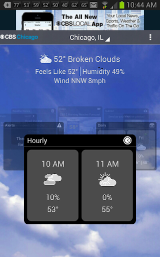 CBS Chicago Weather screenshot for Android