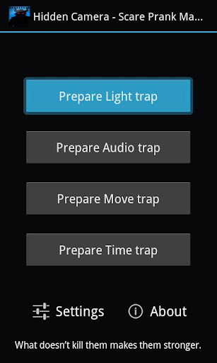 玩工具App|隐蔽型摄像机 • 冲击恶作剧免費|APP試玩