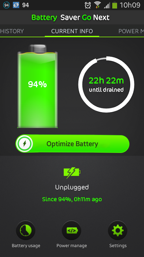 Battery Life Saver Pro Go Next- screenshot