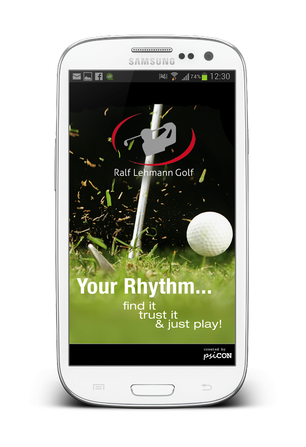 Golf Rhythm Trainer Free- screenshot