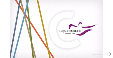 Screenshot of Fundación Caja de Burgos