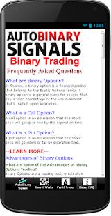 Auto trading signals