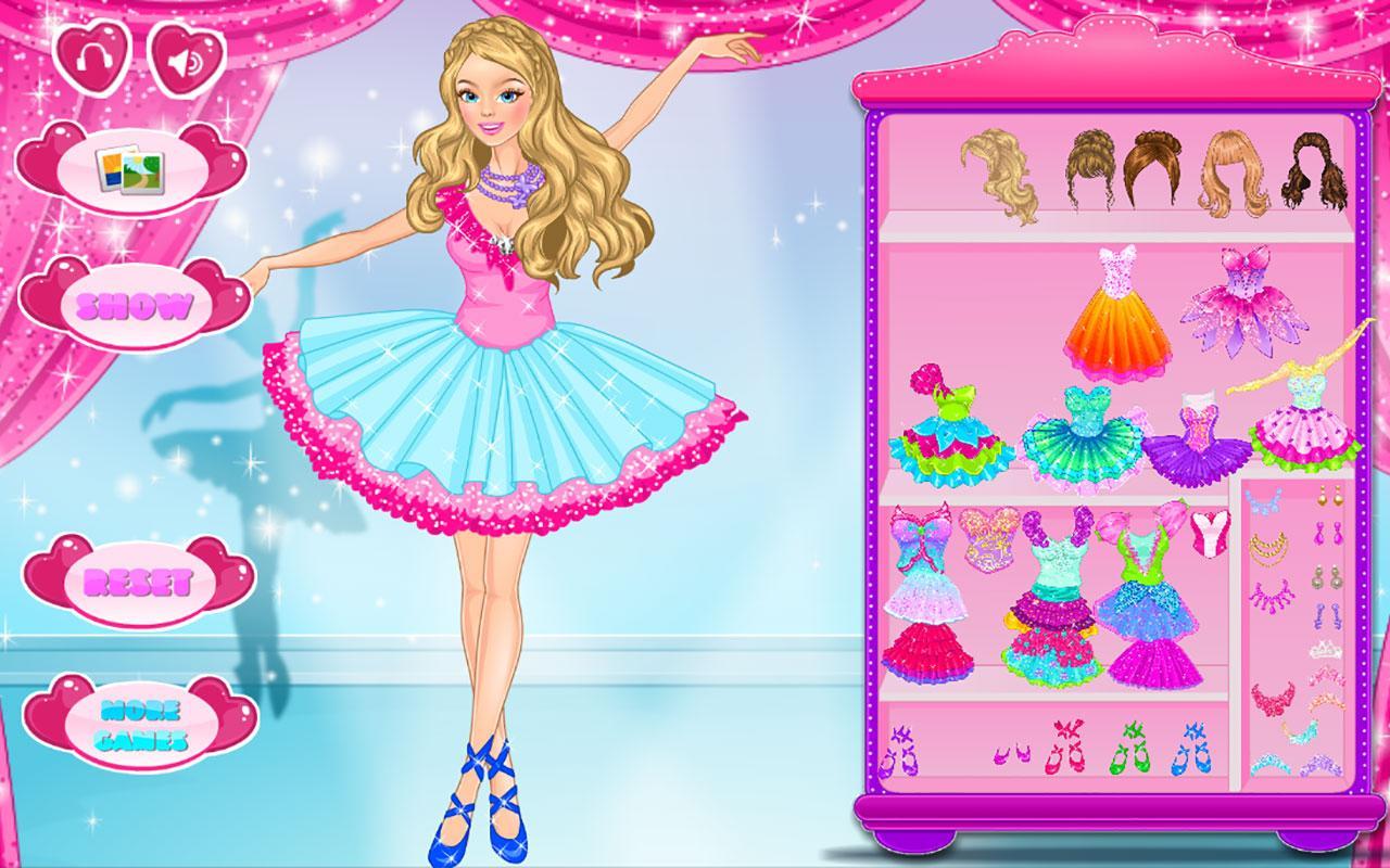 Dress up of princess - Ballet Princess Dress Up Screenshot