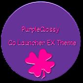 PurpleGlossy Go Launcher Theme