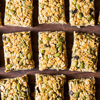 Five Minute, No-Bake Vegan Granola Bars.