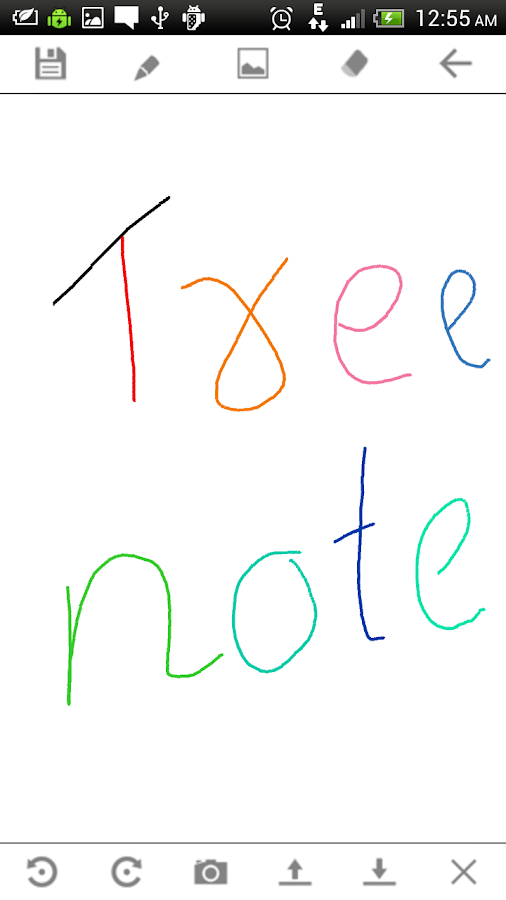 Tree Notepad,Hierarchy Notepad - screenshot