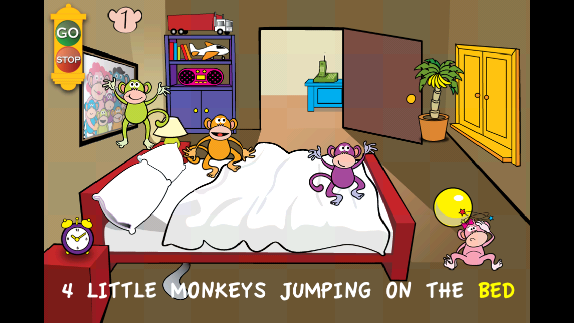 Five Little Monkeys - screenshot