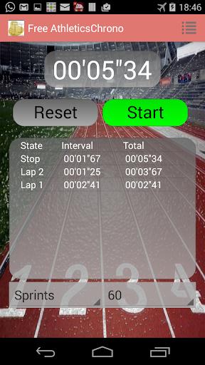 Athletics StopWatch
