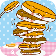 Lovely Pancakes-Hot ham Tower