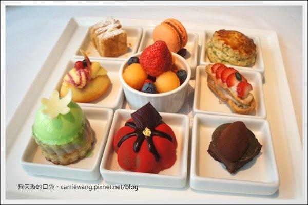 【台中下午茶】Hotel ONE。台中亞緻大飯店。46F頂餐廳九宮格下午茶