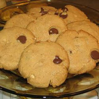 Perfect Cashew and Peanut Butter Gluten-free Cookies.