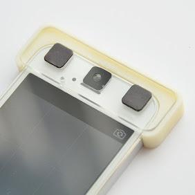 スマホ顕微鏡「Leye」レンズ位置合わせ用パーツ