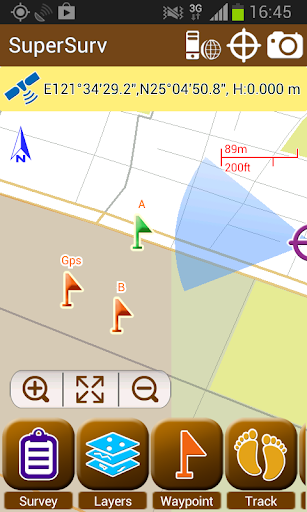 SuperSurv Lite --GIS App  screenshots 1