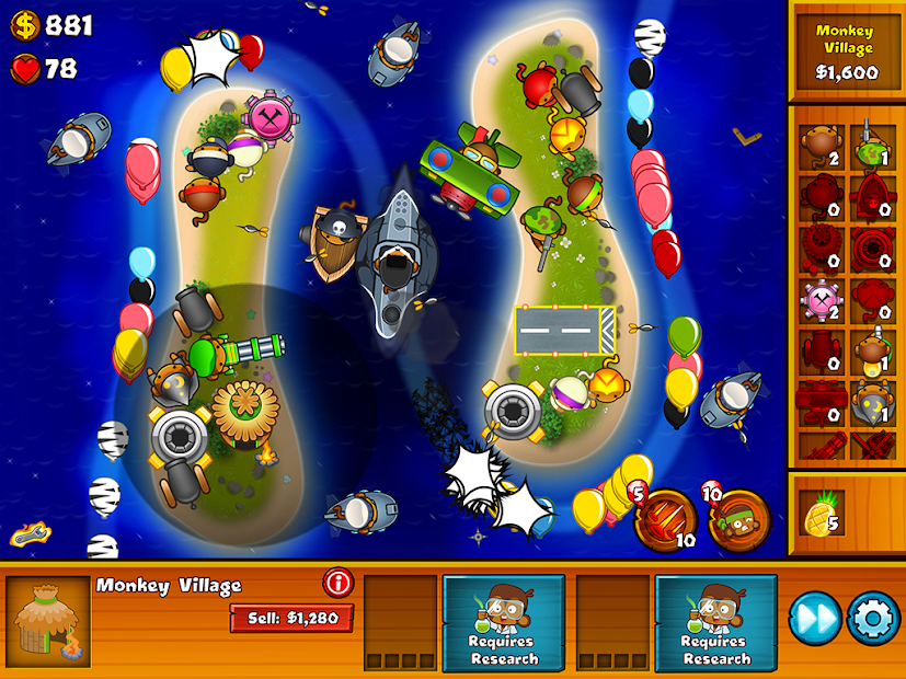 Bloons Monkey City Apps On Google Play
