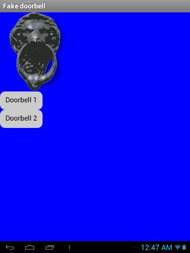 Fake Doorbell