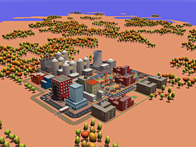 3d City By Loth Chrome Experiments