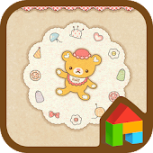 Making Teddy bear dodol theme