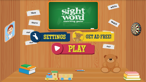 Sight Word Matching