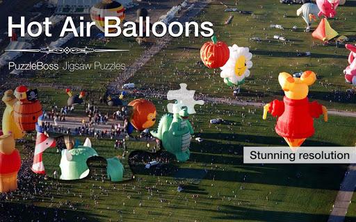 Hot Air Balloon Jigsaw Puzzles