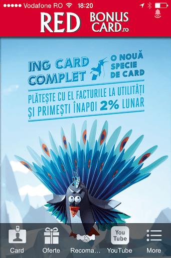 Red Bonus Card