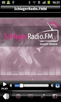 Screenshot of SchlagerRadio.FM